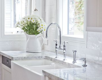 In Addition All Perrin Rowe Kitchen Taps Are Now Available With Matching Spray Rinses To One Side Indispensable For Quickly Spritzing Garden Fresh