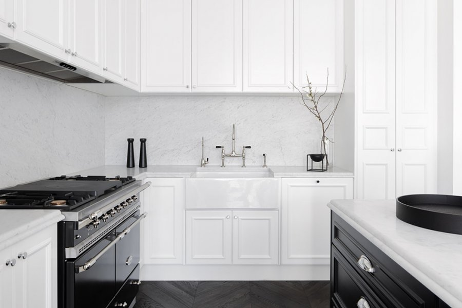 kitchen design prahran perrin amp rowe tapware perfectly complements this black and 928