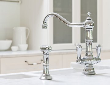 Perrin & Rowe\'s traditional tap collection   In Residence