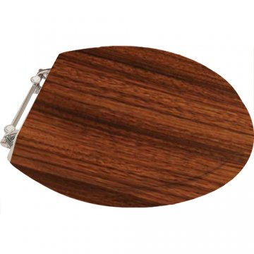 dark brown toilet seat. Perrin  Rowe Timber toilet seat in Dark Zebrano quality seats available standard or