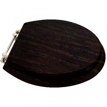 black and white toilet seat. Perrin  Rowe Timber toilet seat in Wenge Oak quality seats available standard or custom