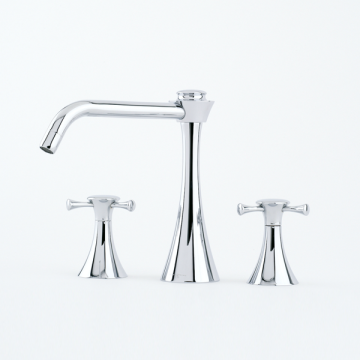 Perrin & Rowe - Limited Edition Mark Wilkinson Oasis Three Hole Kitchen Tap