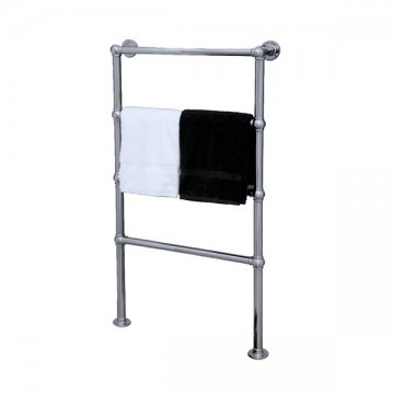 ELECTRIC - Traditional Floor Mounted Towel Warmer in Chrome
