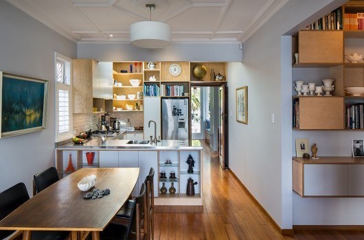 Lyall Bay House - Kitchen