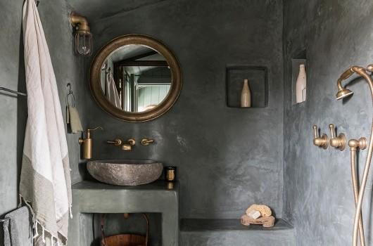Millers Point Home - Tadelakt Bathroom